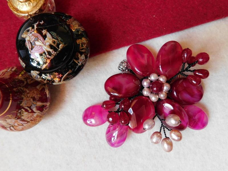 """""""Flori de piatră-Bijoux"""" albumul II-bijuterii artizanale marca Didina Sava - Pagina 7 00614"""