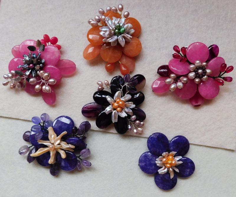 """""""Flori de piatră-Bijoux"""" albumul II-bijuterii artizanale marca Didina Sava - Pagina 7 00715"""