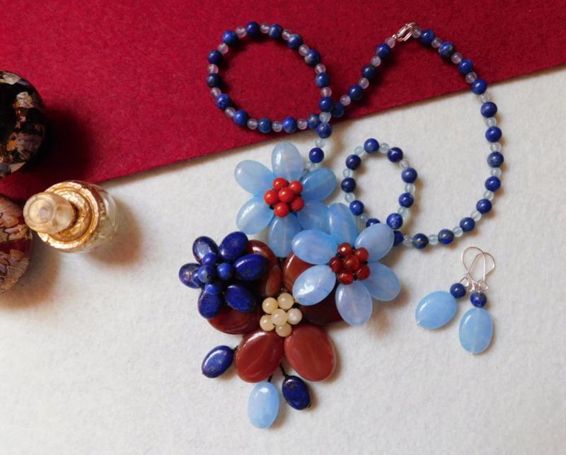 """""""Flori de piatră-Bijoux"""" albumul II-bijuterii artizanale marca Didina Sava - Pagina 6 00721"""