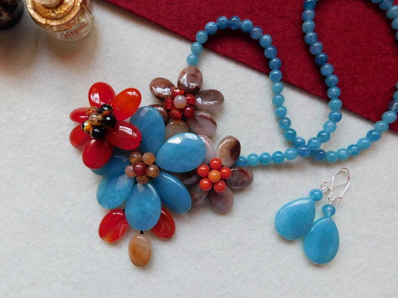 """""""Flori de piatră-Bijoux"""" albumul II-bijuterii artizanale marca Didina Sava - Pagina 6 00724"""