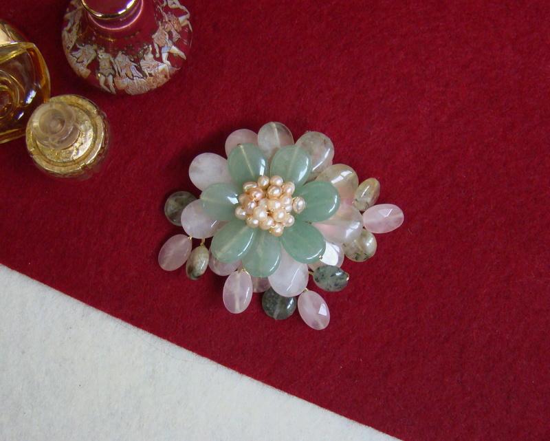 """""""Flori de piatră-Bijoux"""" albumul II-bijuterii artizanale marca Didina Sava - Pagina 11 00814"""