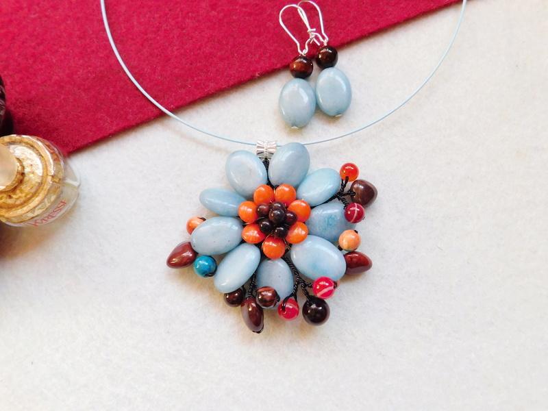 """""""Flori de piatră-Bijoux"""" albumul II-bijuterii artizanale marca Didina Sava - Pagina 5 00820"""