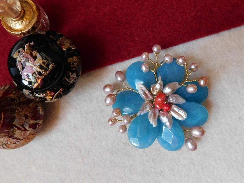 """""""Flori de piatră-Bijoux"""" albumul II-bijuterii artizanale marca Didina Sava - Pagina 10 00912"""