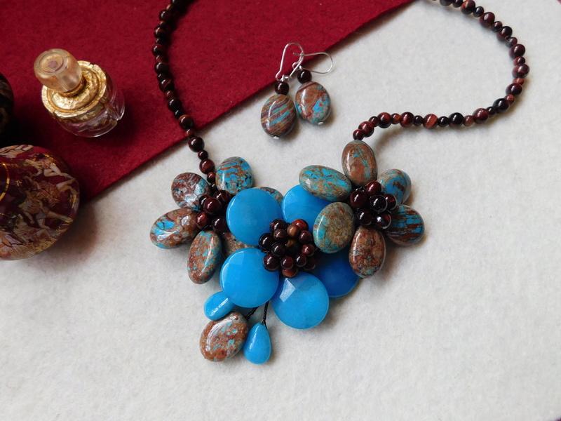 """""""Flori de piatră-Bijoux"""" albumul II-bijuterii artizanale marca Didina Sava - Pagina 6 00916"""
