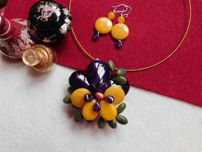 """""""Flori de piatră-Bijoux"""" albumul II-bijuterii artizanale marca Didina Sava - Pagina 5 01017"""