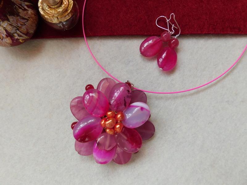"""""""Flori de piatră-Bijoux"""" albumul II-bijuterii artizanale marca Didina Sava - Pagina 6 01114"""