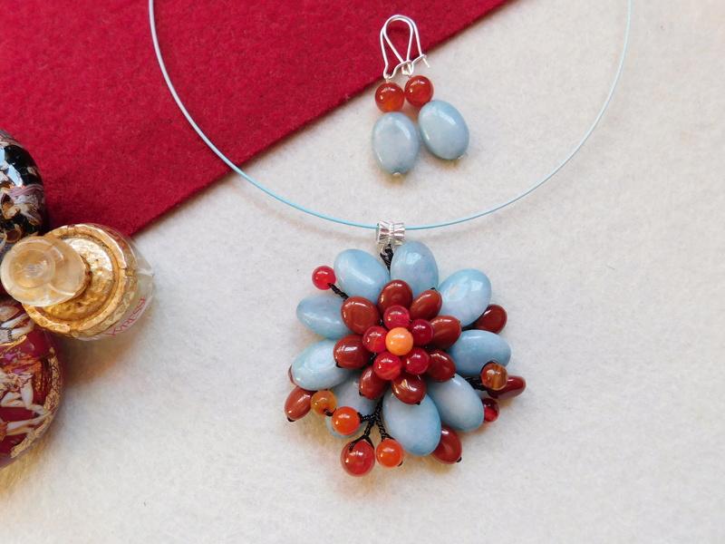 """""""Flori de piatră-Bijoux"""" albumul II-bijuterii artizanale marca Didina Sava - Pagina 5 01118"""