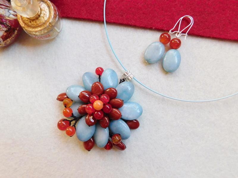 """""""Flori de piatră-Bijoux"""" albumul II-bijuterii artizanale marca Didina Sava - Pagina 5 01318"""