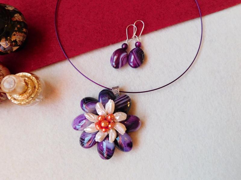 """""""Flori de piatră-Bijoux"""" albumul II-bijuterii artizanale marca Didina Sava - Pagina 5 01319"""