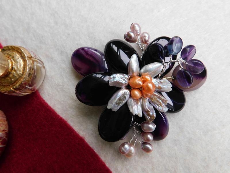 """""""Flori de piatră-Bijoux"""" albumul II-bijuterii artizanale marca Didina Sava - Pagina 10 01413"""