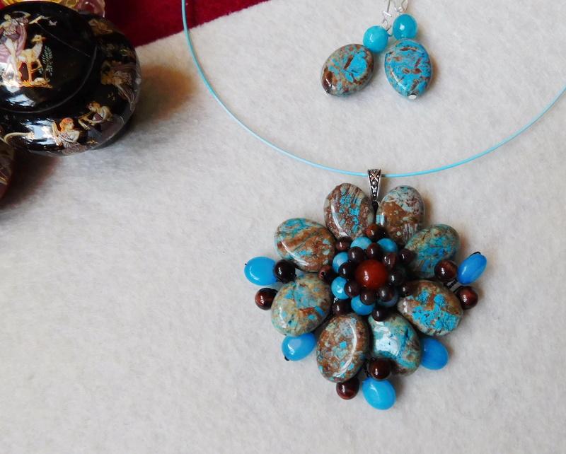 """""""Flori de piatră-Bijoux"""" albumul II-bijuterii artizanale marca Didina Sava - Pagina 10 02610"""
