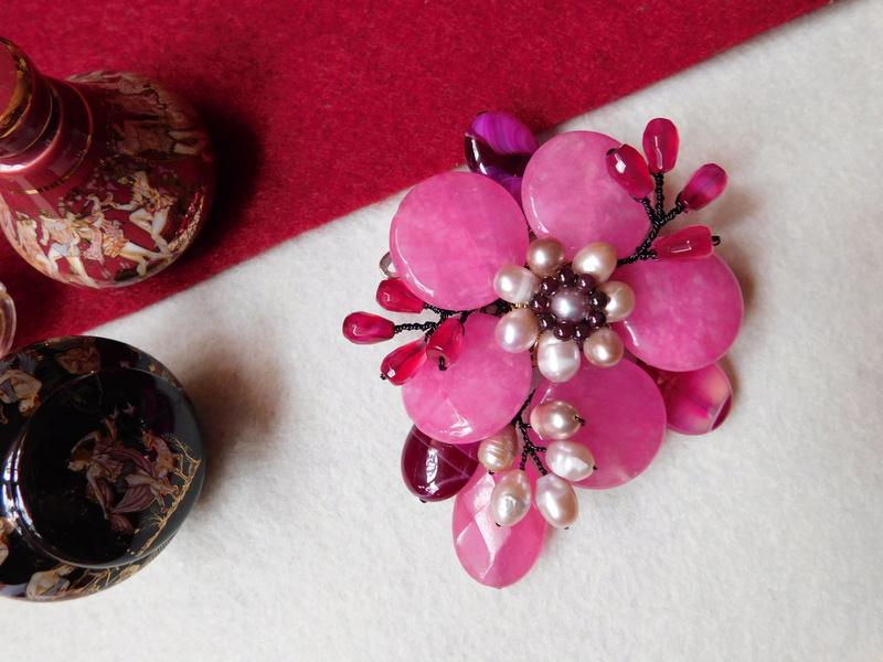 """""""Flori de piatră-Bijoux"""" albumul II-bijuterii artizanale marca Didina Sava - Pagina 10 03811"""