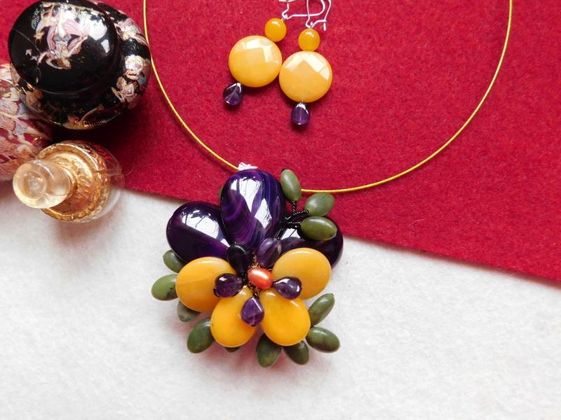"""""""Flori de piatră-Bijoux"""" albumul II-bijuterii artizanale marca Didina Sava - Pagina 5 04310"""