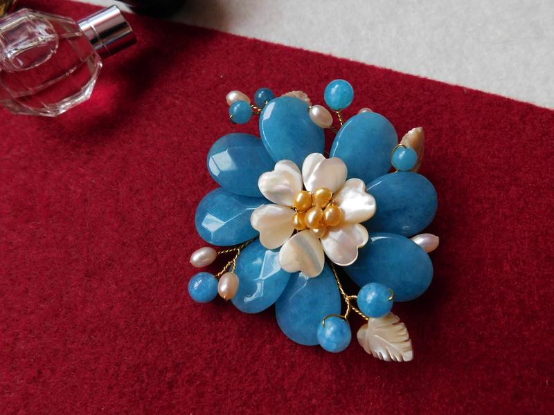 """""""Flori de piatră-Bijoux"""" albumul II-bijuterii artizanale marca Didina Sava - Pagina 10 04710"""