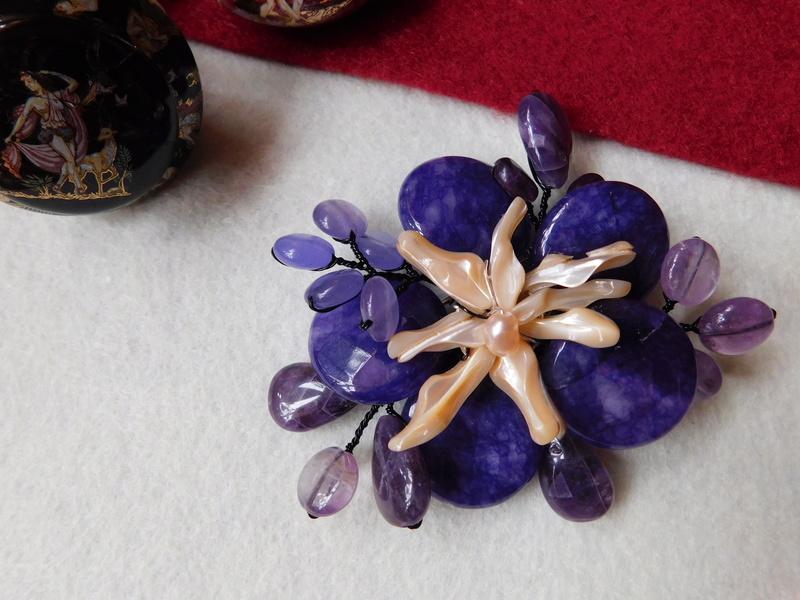 """""""Flori de piatră-Bijoux"""" albumul II-bijuterii artizanale marca Didina Sava - Pagina 7 04910"""