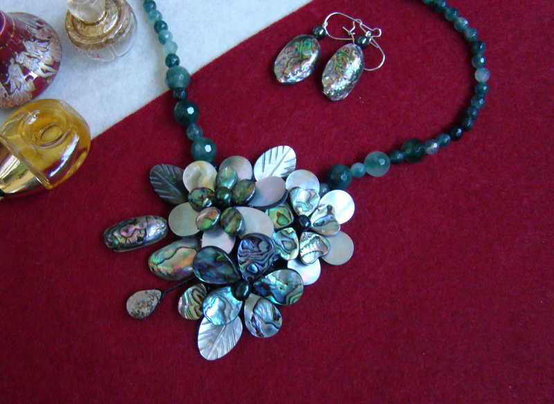 """""""Flori de piatră-Bijoux"""" albumul II-bijuterii artizanale marca Didina Sava - Pagina 8 Colie100"""