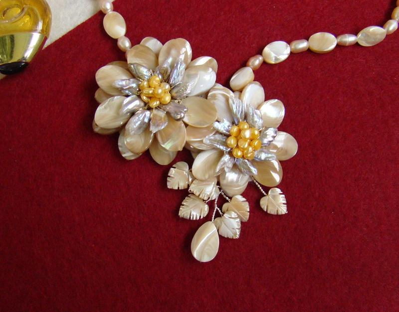 """""""Flori de piatră-Bijoux"""" albumul II-bijuterii artizanale marca Didina Sava - Pagina 8 Colie102"""