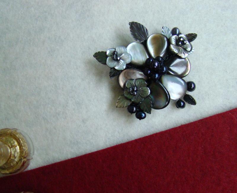 """""""Flori de piatră-Bijoux"""" albumul II-bijuterii artizanale marca Didina Sava - Pagina 11 Colie109"""
