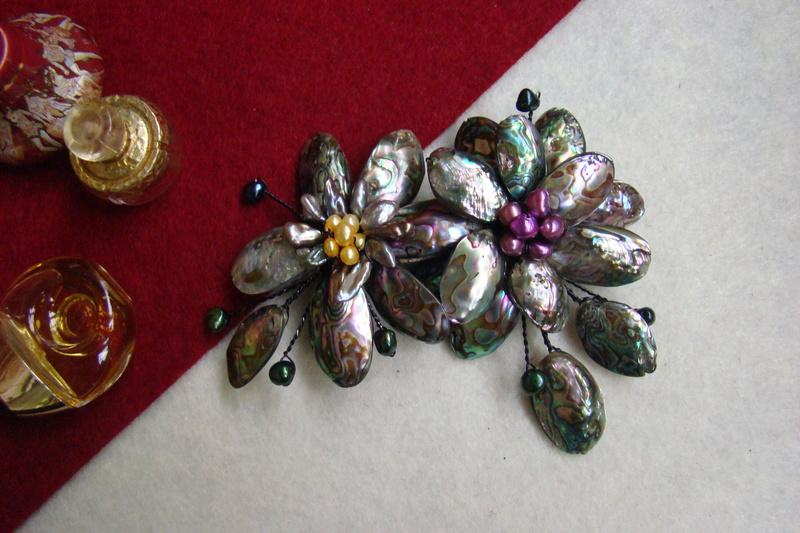 """""""Flori de piatră-Bijoux"""" albumul II-bijuterii artizanale marca Didina Sava - Pagina 8 Colie110"""