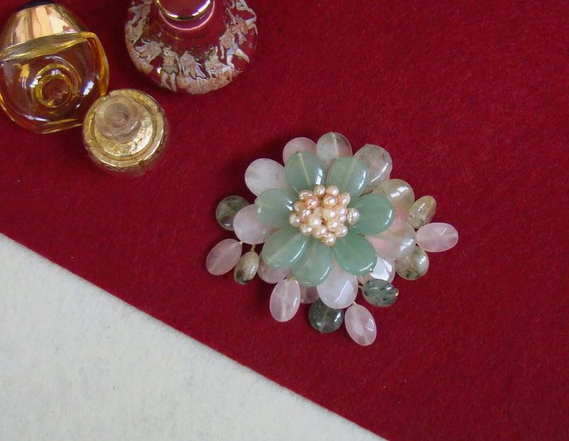 """""""Flori de piatră-Bijoux"""" albumul II-bijuterii artizanale marca Didina Sava - Pagina 11 Colie113"""