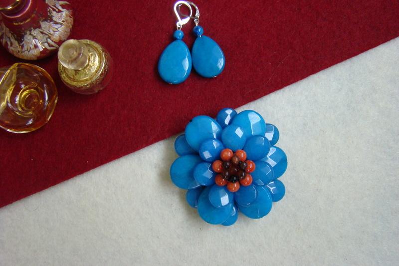 """""""Flori de piatră-Bijoux"""" albumul II-bijuterii artizanale marca Didina Sava - Pagina 8 Colie114"""