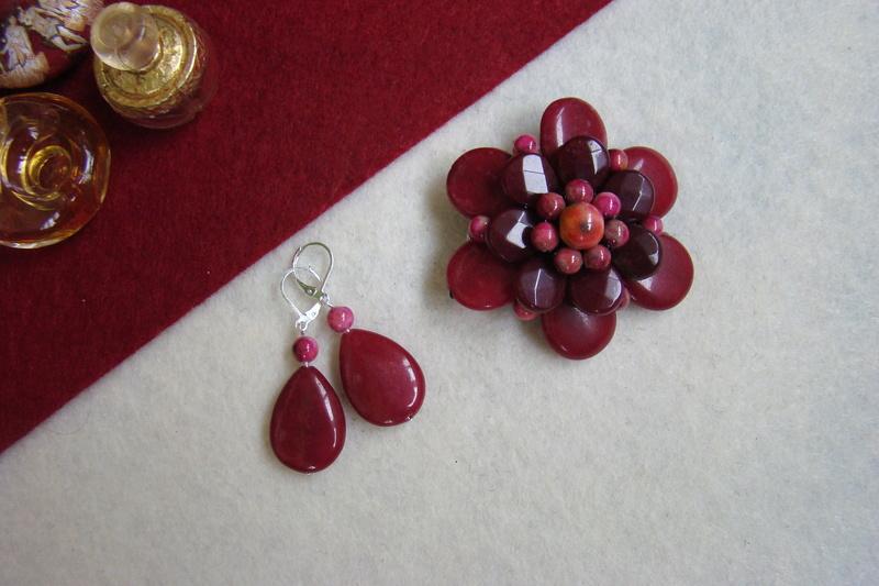 """""""Flori de piatră-Bijoux"""" albumul II-bijuterii artizanale marca Didina Sava - Pagina 8 Colie115"""
