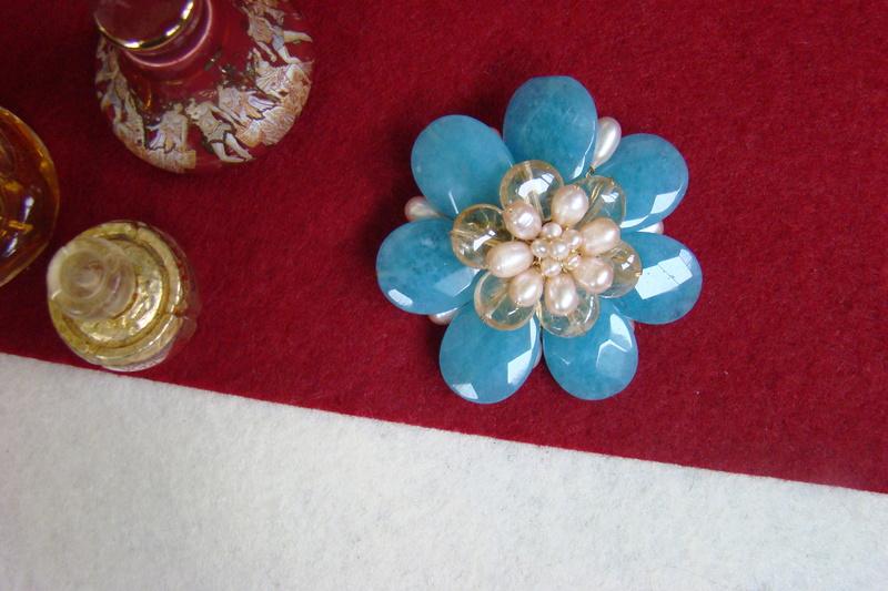 """""""Flori de piatră-Bijoux"""" albumul II-bijuterii artizanale marca Didina Sava - Pagina 8 Colie116"""