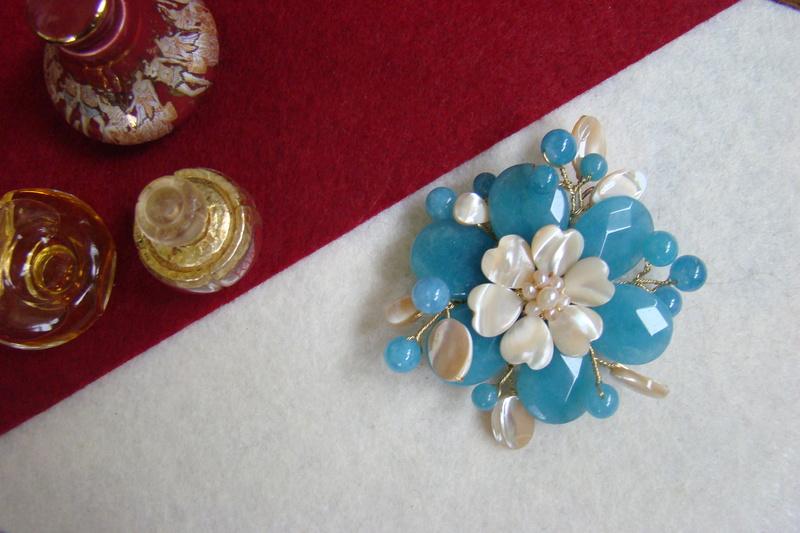 """""""Flori de piatră-Bijoux"""" albumul II-bijuterii artizanale marca Didina Sava - Pagina 8 Colie117"""