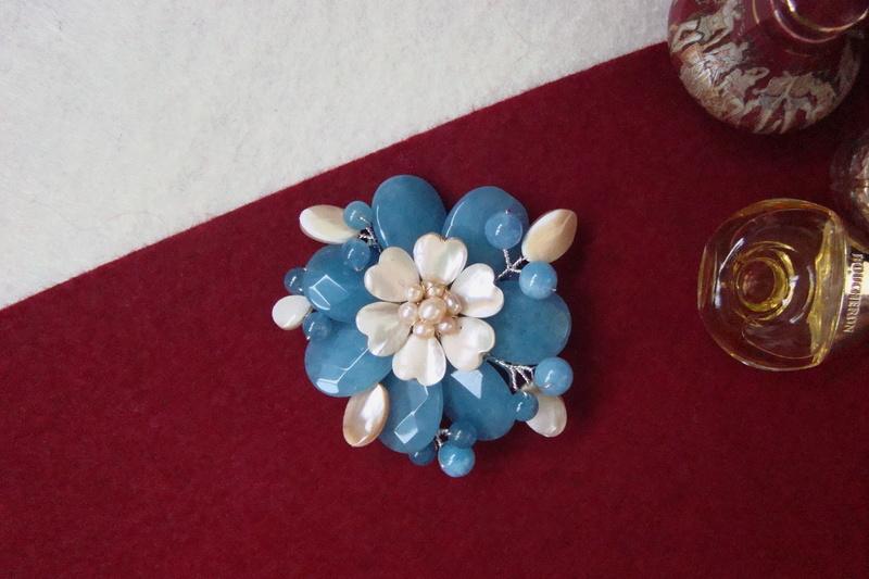 """""""Flori de piatră-Bijoux"""" albumul II-bijuterii artizanale marca Didina Sava - Pagina 10 Colie122"""