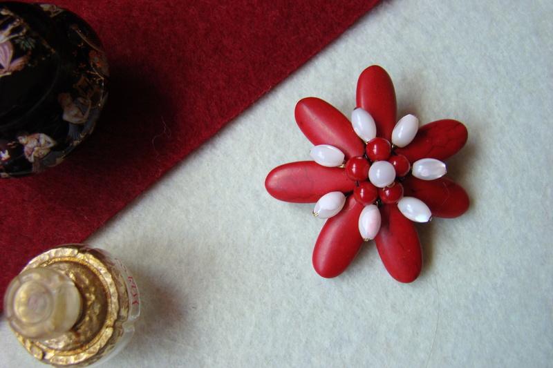 """""""Flori de piatră-Bijoux"""" albumul II-bijuterii artizanale marca Didina Sava - Pagina 8 Colie123"""