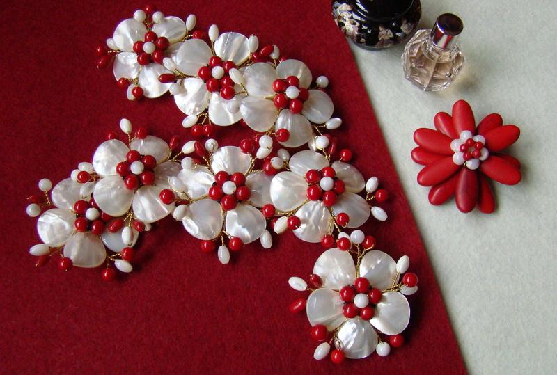 """""""Flori de piatră-Bijoux"""" albumul II-bijuterii artizanale marca Didina Sava - Pagina 10 Colie124"""