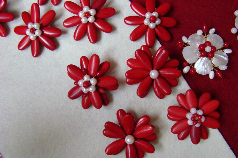 """""""Flori de piatră-Bijoux"""" albumul II-bijuterii artizanale marca Didina Sava - Pagina 10 Colie125"""