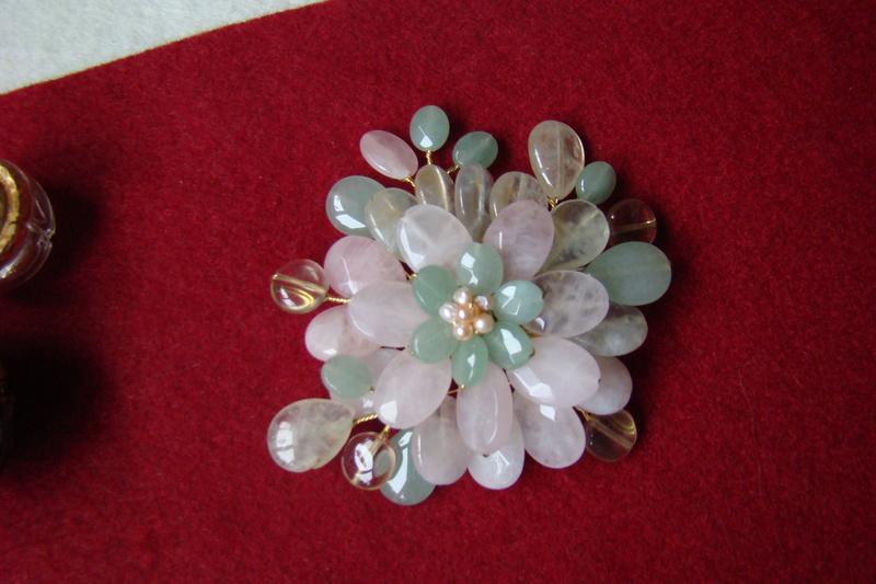 """""""Flori de piatră-Bijoux"""" albumul II-bijuterii artizanale marca Didina Sava - Pagina 10 Colie128"""