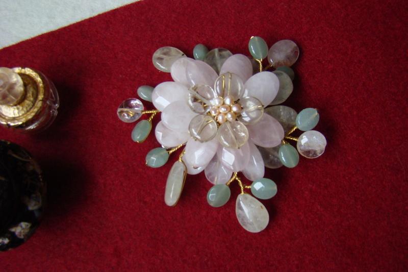 """""""Flori de piatră-Bijoux"""" albumul II-bijuterii artizanale marca Didina Sava - Pagina 10 Colie129"""