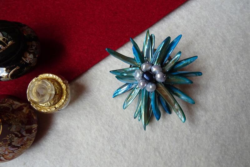 """""""Flori de piatră-Bijoux"""" albumul II-bijuterii artizanale marca Didina Sava - Pagina 10 Colie132"""