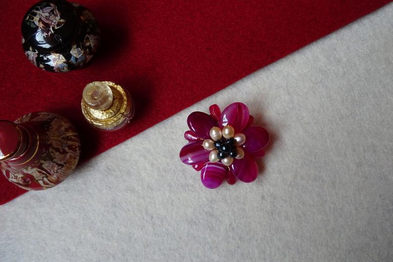 """""""Flori de piatră-Bijoux"""" albumul II-bijuterii artizanale marca Didina Sava - Pagina 10 Colie133"""