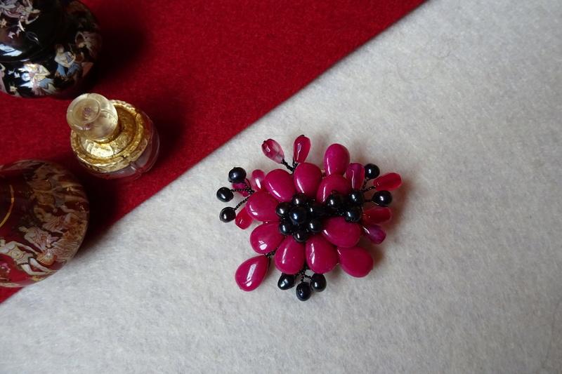 """""""Flori de piatră-Bijoux"""" albumul II-bijuterii artizanale marca Didina Sava - Pagina 10 Colie134"""