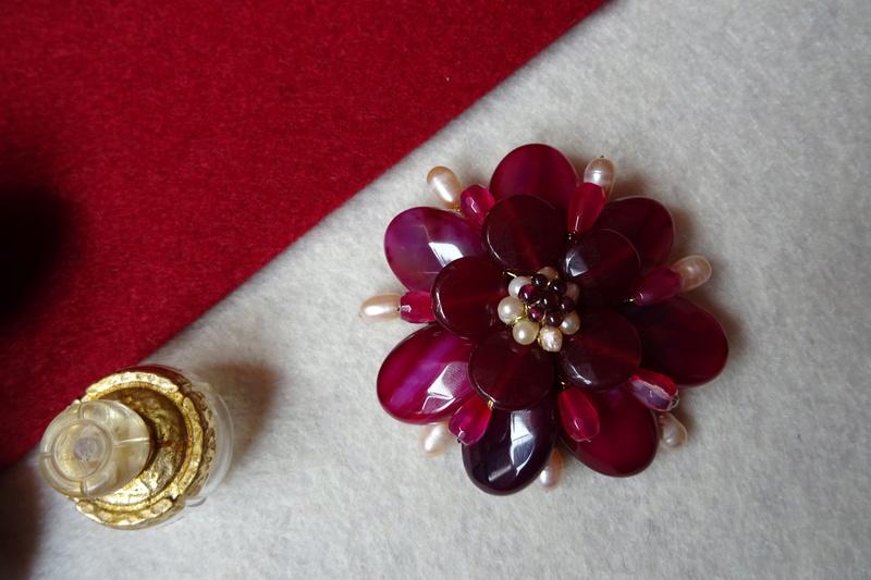 """""""Flori de piatră-Bijoux"""" albumul II-bijuterii artizanale marca Didina Sava - Pagina 10 Colie136"""