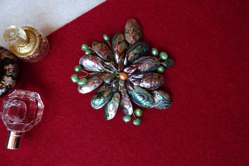 """""""Flori de piatră-Bijoux"""" albumul II-bijuterii artizanale marca Didina Sava - Pagina 10 Colie138"""