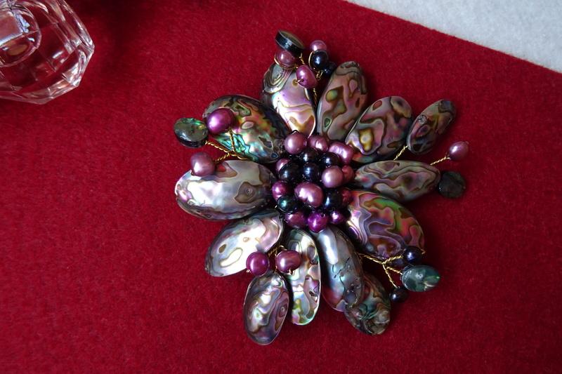 """""""Flori de piatră-Bijoux"""" albumul II-bijuterii artizanale marca Didina Sava - Pagina 7 Colie140"""
