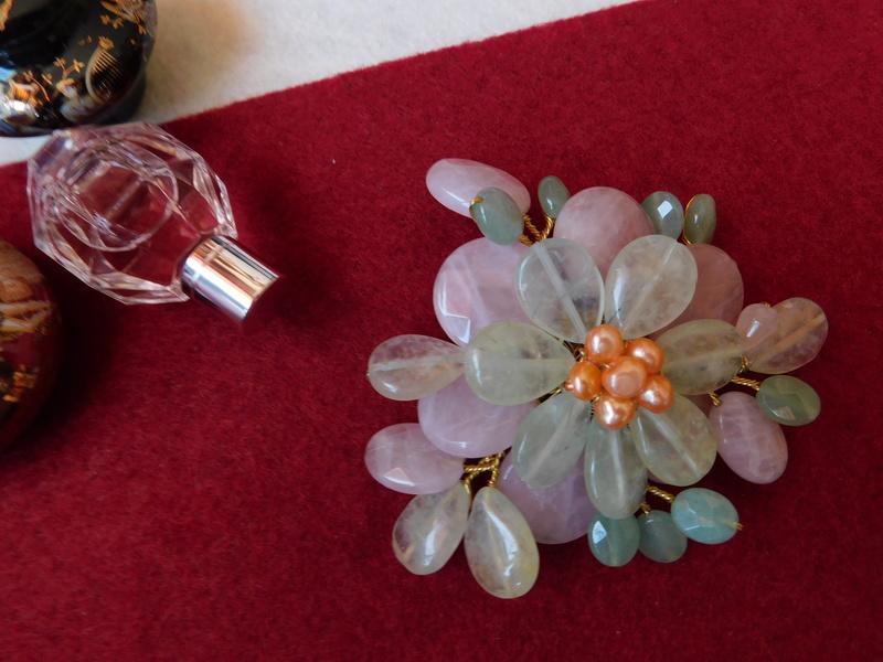 """""""Flori de piatră-Bijoux"""" albumul II-bijuterii artizanale marca Didina Sava - Pagina 7 Colie141"""