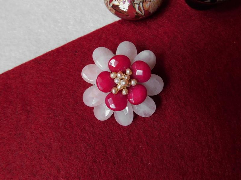 """""""Flori de piatră-Bijoux"""" albumul II-bijuterii artizanale marca Didina Sava - Pagina 7 Colie145"""