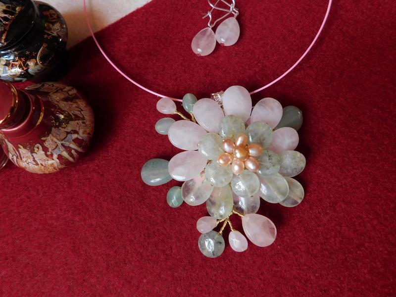 """""""Flori de piatră-Bijoux"""" albumul II-bijuterii artizanale marca Didina Sava - Pagina 10 Colie147"""
