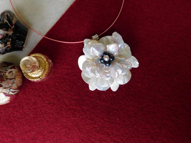 """""""Flori de piatră-Bijoux"""" albumul II-bijuterii artizanale marca Didina Sava - Pagina 7 Colie149"""