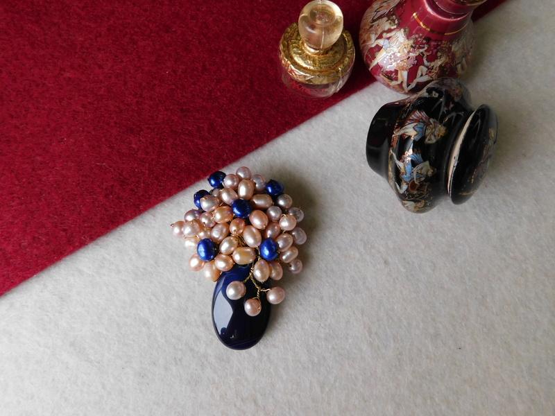 """""""Flori de piatră-Bijoux"""" albumul II-bijuterii artizanale marca Didina Sava - Pagina 7 Colie150"""