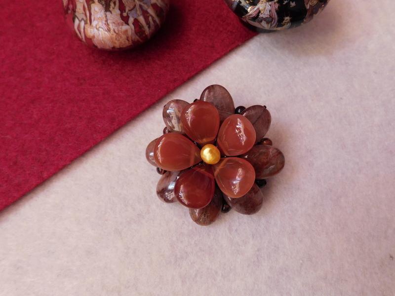 """""""Flori de piatră-Bijoux"""" albumul II-bijuterii artizanale marca Didina Sava - Pagina 7 Colie152"""