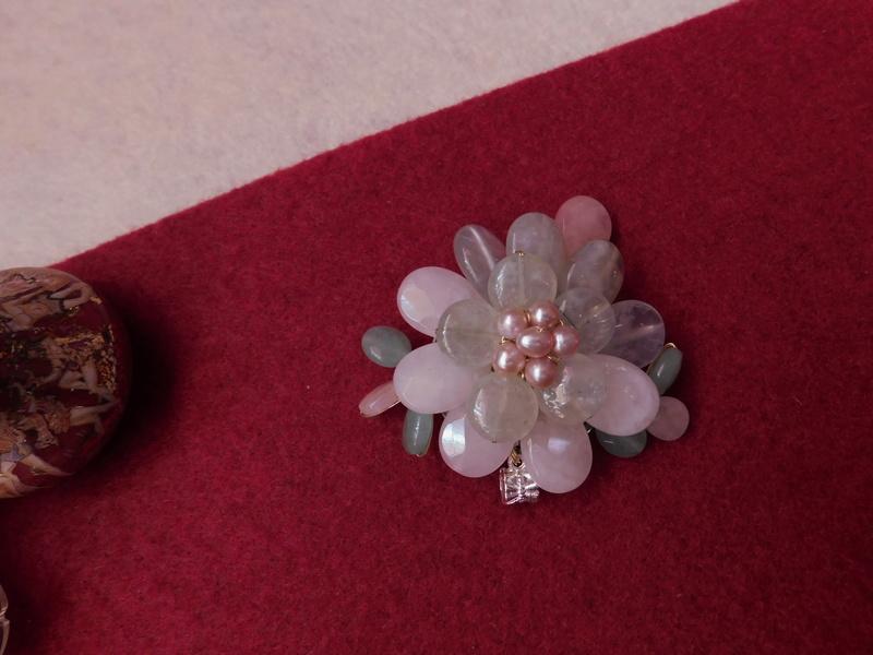 """""""Flori de piatră-Bijoux"""" albumul II-bijuterii artizanale marca Didina Sava - Pagina 7 Colie154"""