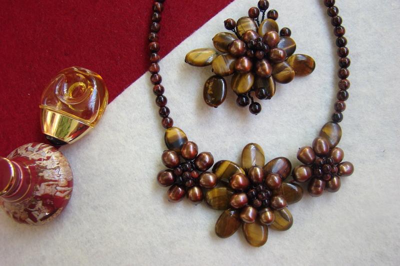 """""""Flori de piatră-Bijoux"""" albumul II-bijuterii artizanale marca Didina Sava - Pagina 11 Colier10"""