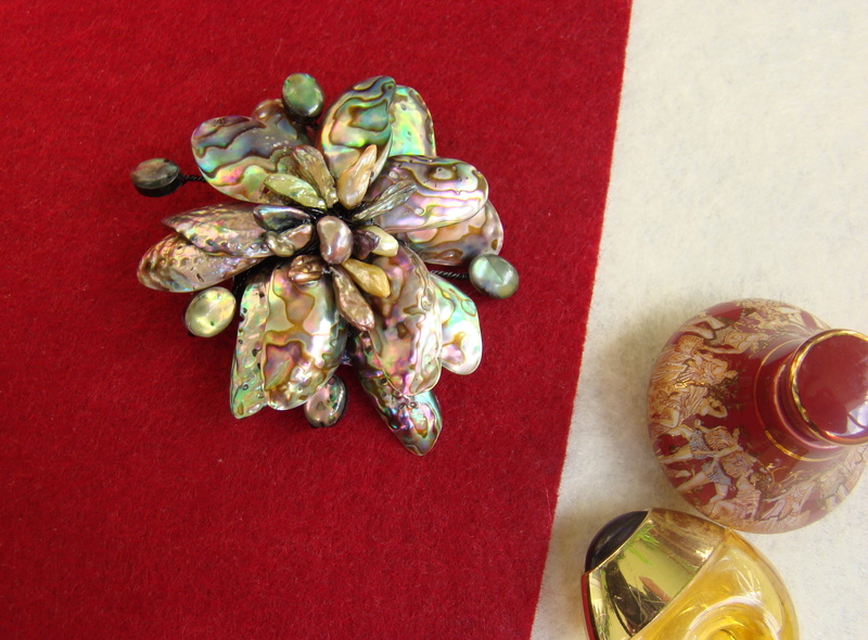 """""""Flori de piatră-Bijoux"""" albumul II-bijuterii artizanale marca Didina Sava - Pagina 10 Colier12"""