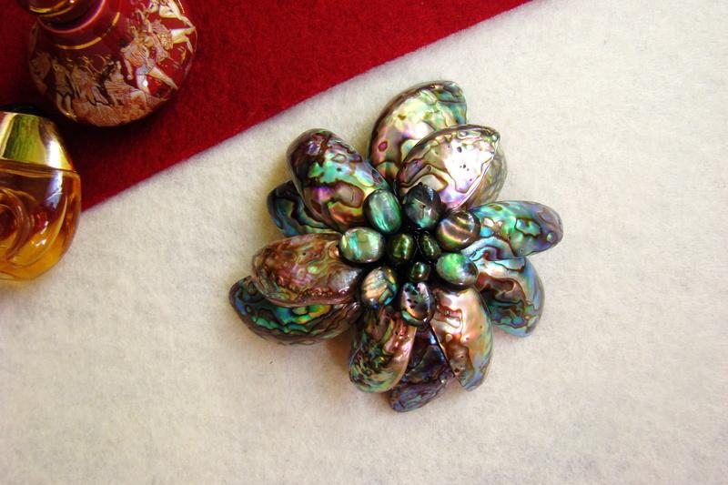 """""""Flori de piatră-Bijoux"""" albumul II-bijuterii artizanale marca Didina Sava - Pagina 11 Colier16"""